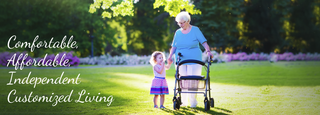 Customized, Independent, Affordable Senior Living